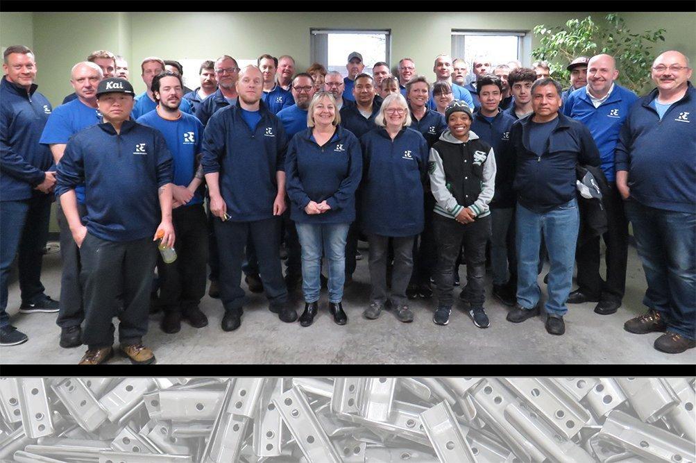 Rotation Engineering & Manufacturing Team Photo