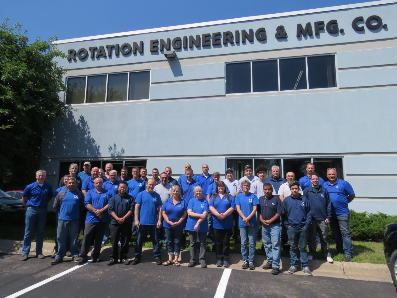 Rotation Engineering & Manufacturing Team Photo