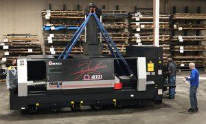 Amada 6000 watt laser cutting machine